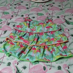 Goodland Flamingo  Sundress  3T